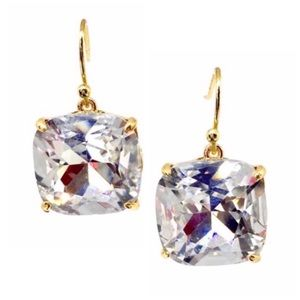 Tory Burch • Tory-Set Crystal Stone Drop Earrings